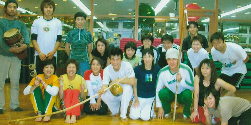 2003年スポーツクラブ内でのカポエイラ指導